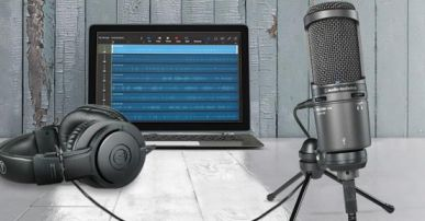 dictating with the audio technica at2020 usb condensere mic