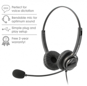 overture executive headset dictation