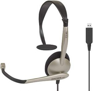 Koss communication cs100 mono headset
