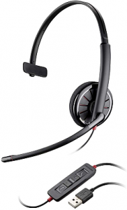 blackwire c320 mono headset